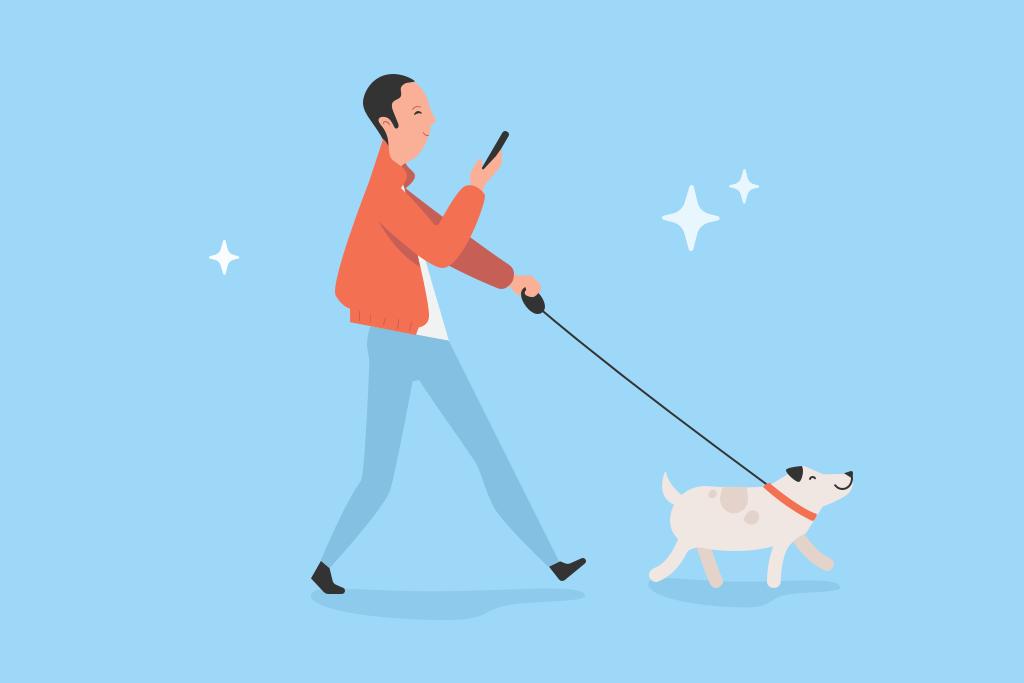 Dabbl dog walker